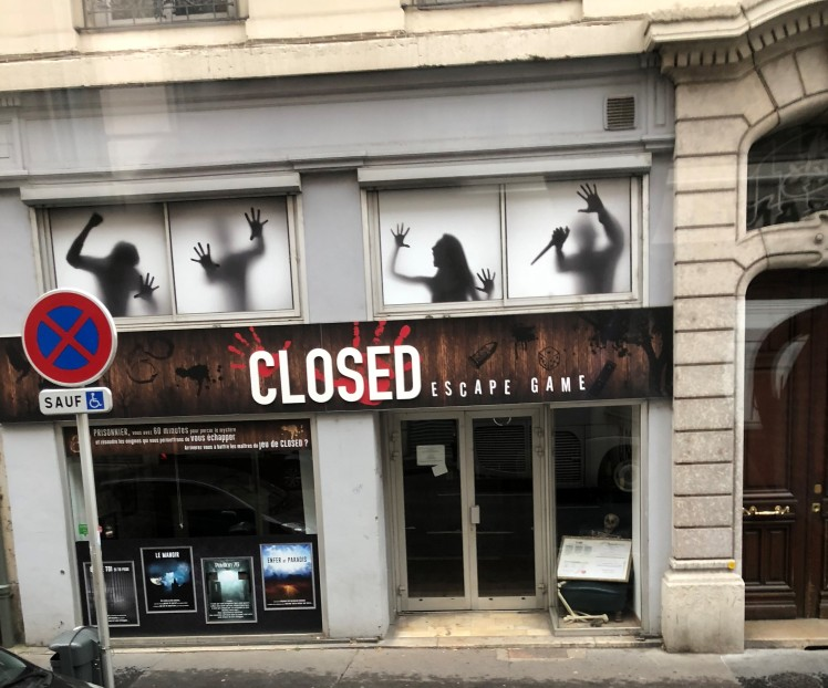 Lyon closed escape game