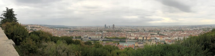 Lyon view from Basilica