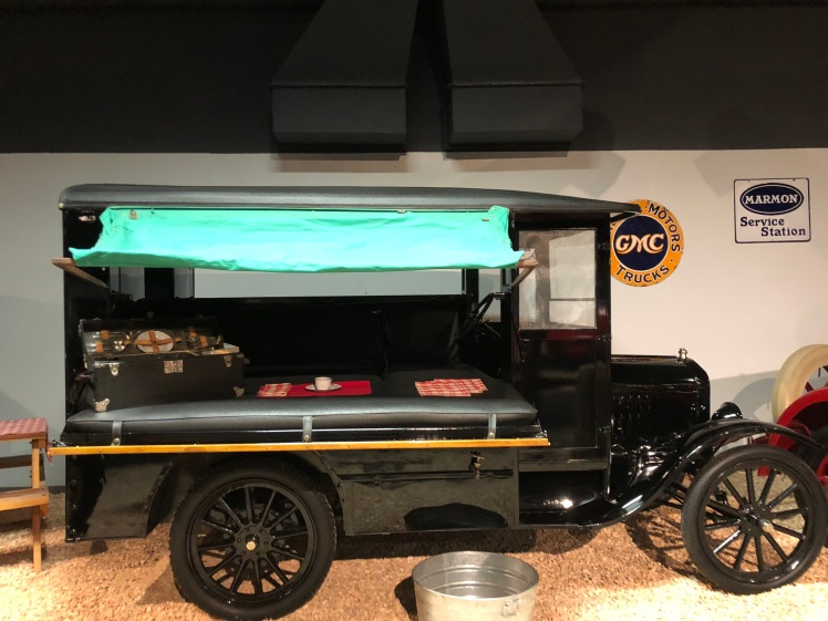 1921 Ford-an innovation that predated the RV craze